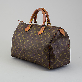 "LOUIS VUITTON, ""Speedy 35"", VÄSKA."