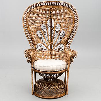 "KORGSTOL, sk ""Peacock chair"", 1970-tal."