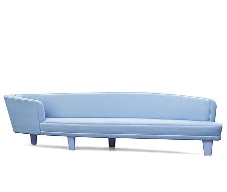 """Jonny johansson, an upholstered sofa, """"studie no 4"""", acne studios, o.h. sjögren, tranås, sweden 2010."""