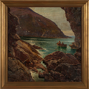 UNIDENTIFIED ARTIST, oil on canvas, signed A Smith, circa 1900.