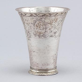 BÄGARE, silver, Anders Brandt, Norrköping, 1786.