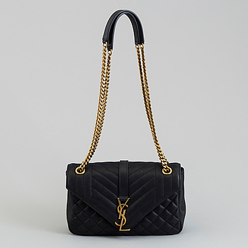 "VÄSKA, ""Soft Envelope Bag"", Yves Saint Laurent."