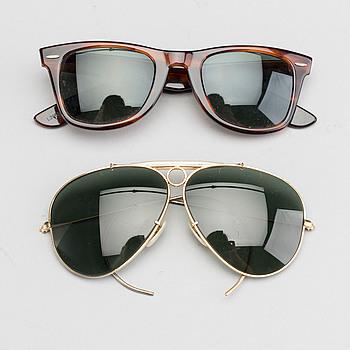B&L RAY BAN, solglasögon, 2 st.