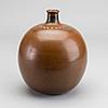 A stig lindberg stoneware vase, gustavsbergs studio