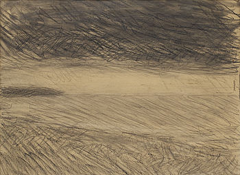 CARL KYLBERG, pencil drawing.