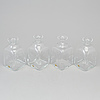 "A set of four ""antik"" decanters by reijmyre glasbruk"