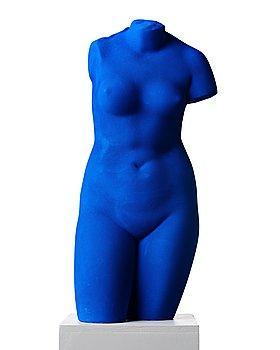 """127. Yves Klein, """"La Vénus d'Alexandrie (Vénus Bleue)""""."""