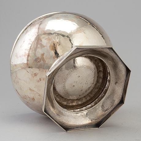 SkÅl, silver, danmark 1919