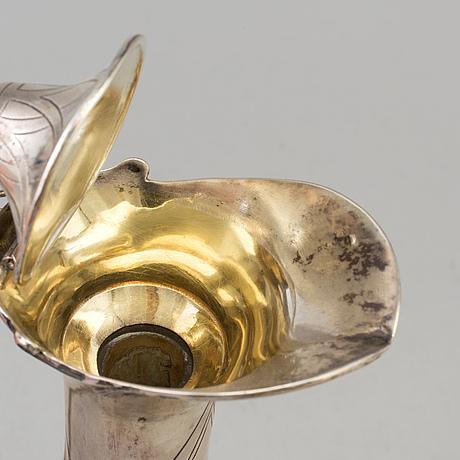 Vinkanna, silver och glas, 1900 talets första hälft
