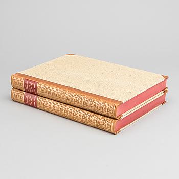 """SERGELS FANTASI"" 2 vol av Ragnar Josephson, Stockholm 1936."