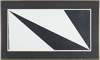 OLLE BAERTLING, färgserigrafi, signerad och numrerad 19/50.