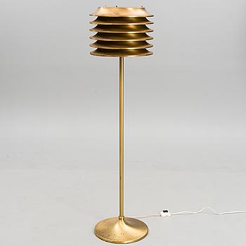 A 1970's floor lamp by Kai Ruokonen for Orno, Finland.