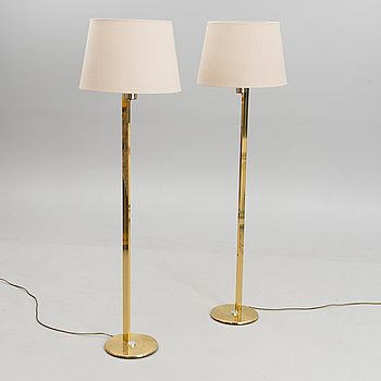 Two 21st century Norwegian floor lamps for Høvik Lys.