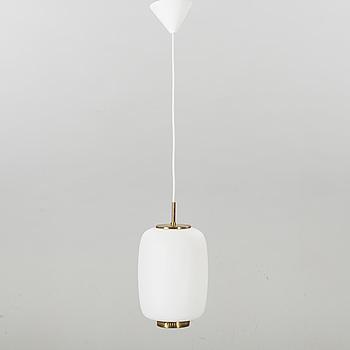 A China pendant ceiling lamp, Bent Karlby for Lyfa, Denmark.