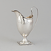 A london silver creamer dated 1795, possibly by abraham taylor