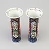 Vaser, ett par, porslin, kina, 1800 tal