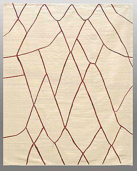 MATTA, slätväv, ca 233 x 190 cm.