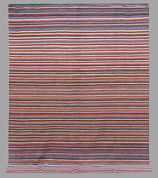 MATTA, slätväv, ca 269 x 207 cm.