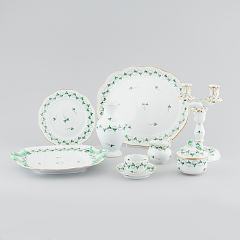20 pieces of porcelain tableware from Herend, 20th century.