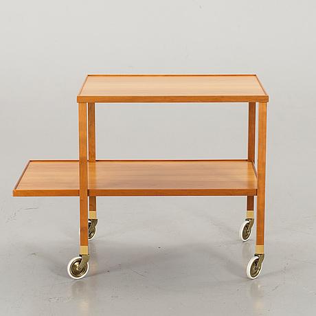 tevagn, modell 470 för firma svenskt tenn stockholm 1900 talets andra hälft