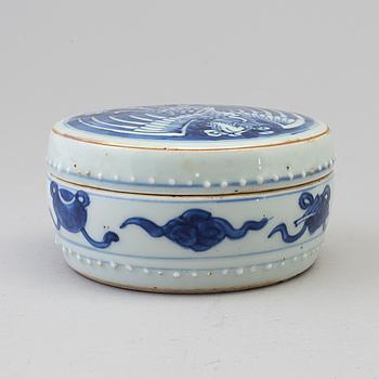 ASK MED LOCK, Kina, 1800-tal.