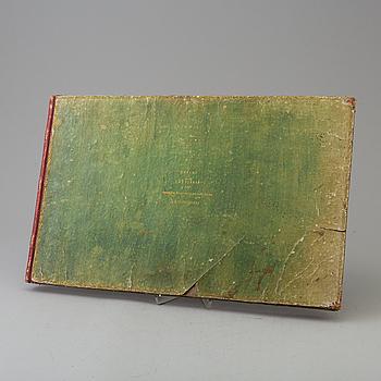 Handmålade kartor, Eka säteri, 1827.