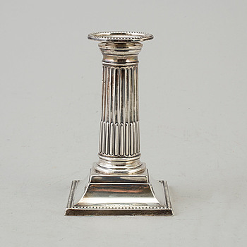 GEORGE HAPE, ljusstake, silver, Sheffiled, England, 1899.