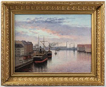 ELIN ALFHILD NORDLUND, olja på duk, signerad och daterad 1888.