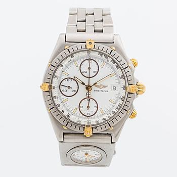 BREITLING, Chronometre, kronograf, armbandsur, 40 mm,