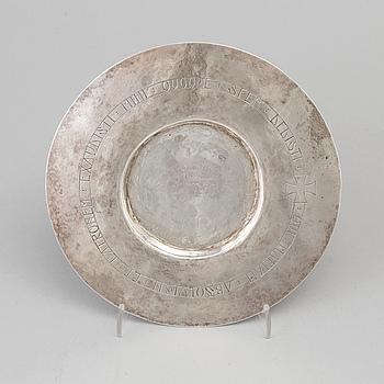 PATE, silver, Arboga 1783.