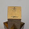 Pierre forssell, ljusstakar, ett par, mässing, skultuna, 1900 talets andra hälft
