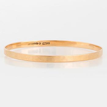 CLAËS E. GIERTTA, A bangle, 18K gold.