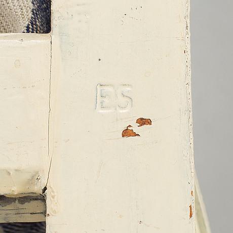 Ephraim stÅhl, stolar, 3 st, gustavianska, signerade