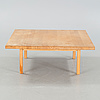 A late 20th century coffee table