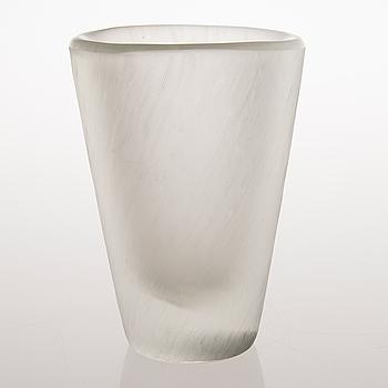 TAPIO WIRKKALA, VAS, glas, modell 3535, signerad Tapio Wirkkala Iittala.