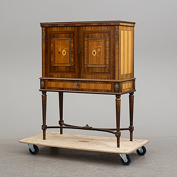 A mid 20th century Gustavian style drikns cabinet.