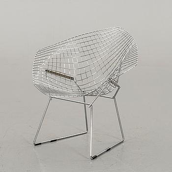 "HARRY BERTOIA, fåtölj ""Diamond chair"", 1900-talets senare del."