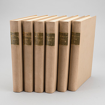 THE STUDIO, 6 vol. 1929-31.