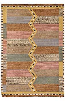 """212. Märta Måås-Fjetterström, A CARPET, """"Stigen"""", flat weave, ca 260,5 x 176 cm, signed MMF."""