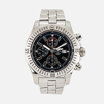 BREITLING, Super Avenger, Chronometre, kronograf, armbandsur, 48,4 mm.