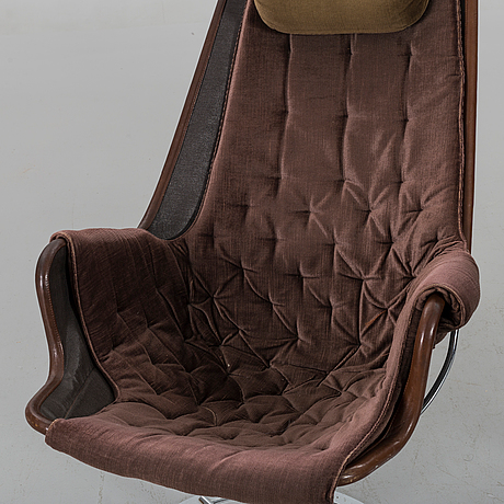 "Bruno mathsson, a pair of ""jetson"" loungechairs"