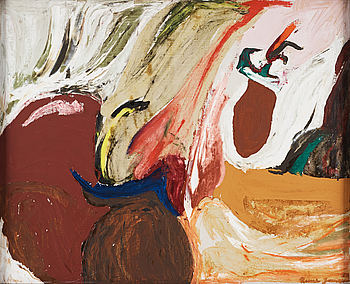 RUNE JANSSON, oil on canvas, signed and dated -58.