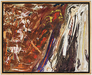 RUNE JANSSON, oil on canvas, signed and dated -57.