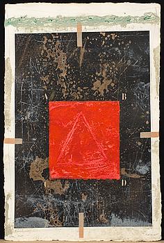 JAMES COIGNARD, mapp, 6 st, carborundumetsning, signerad och numrerad 55/99,
