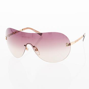 A Pair of Frameless Goldtone Sunglasses, Model 4118.