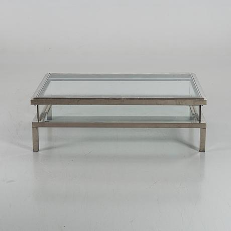 A vitrine sofa table, end of 20th century.