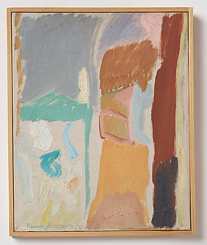 RUNE JANSSON, oil on canvas, signed and dated 1950.