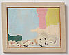Rune jansson, oil on canvas, signed and dated -54.