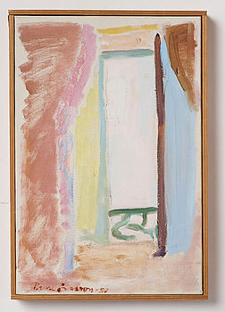 RUNE JANSSON, oil on canvas, signed and dated -50.