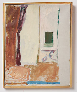 RUNE JANSSON, oil on canvas, signed and dated -47.